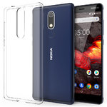Flexi Thin Crystal Gel Case for Nokia 5.1 - Clear (Gloss)